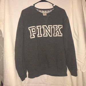 PINK crew neck sweatshirt
